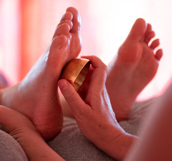massage pieds bol kansu