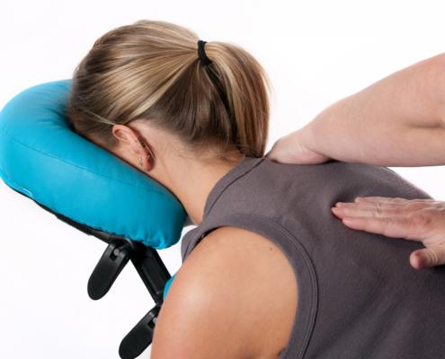 massage crânien assis